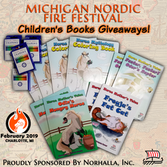 Norhalla, Inc. sponsors 2019 Michigan Nordic Fire Festival