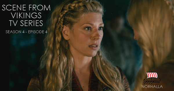 Lagertha speaking to Torvi - Vikings TV Series. Norhalla.com