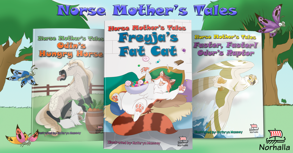 Norse Mother's Tales children's books at Norhalla.com