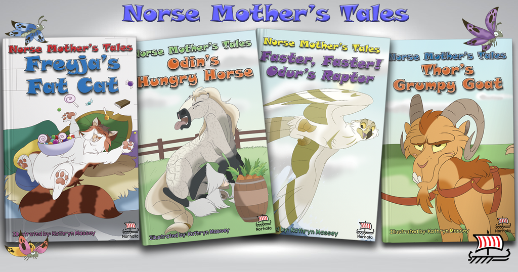 Norse Mother's Tales children's books.