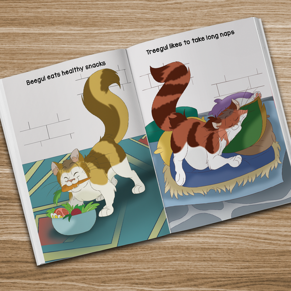 Norse Mother's Tales, Freyja's Fat Cat book for young children. Norhalla.com
