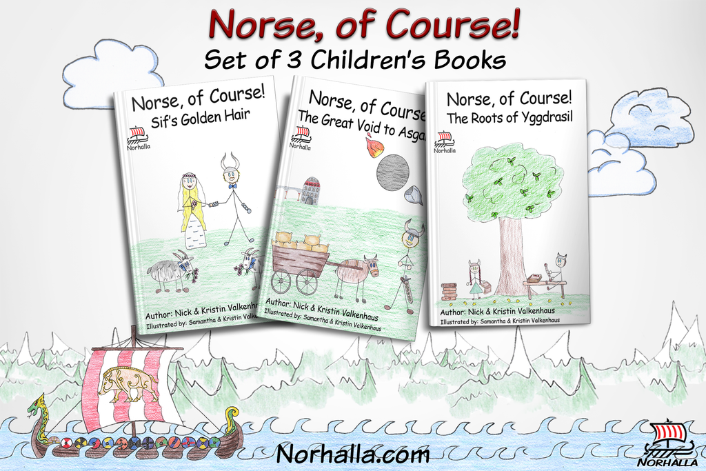 Norse, of Course! children's books at Norhalla.com