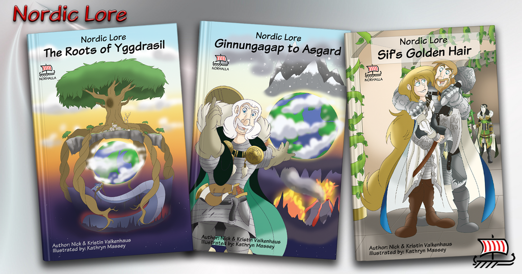 Nordic Lore 3 Book Set