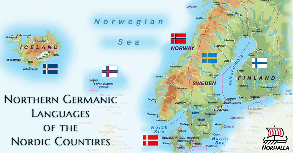 North Germanic Languages of the Nordic Nations