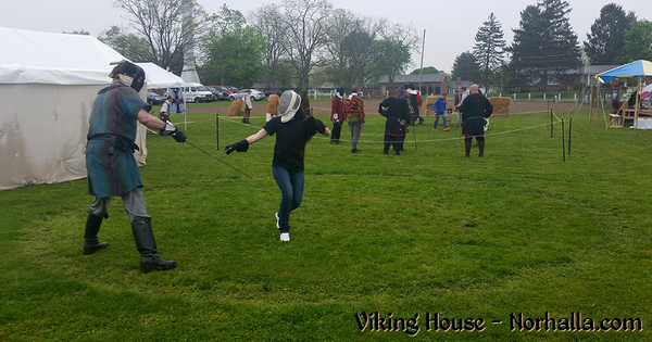 Viking House - Ashville Viking Festival 2016