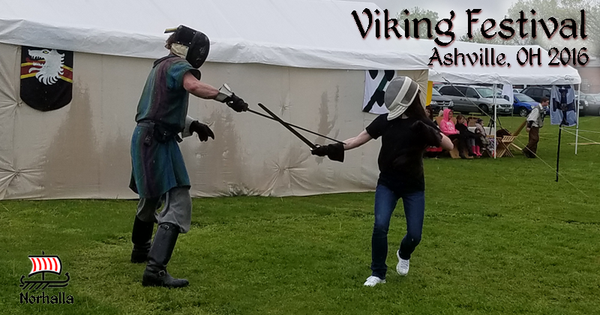 The Nothalla crew went to the Ashville Viking Festival. Our Norhalla ladies learned first hand techniques with the sword. Norhalla.com