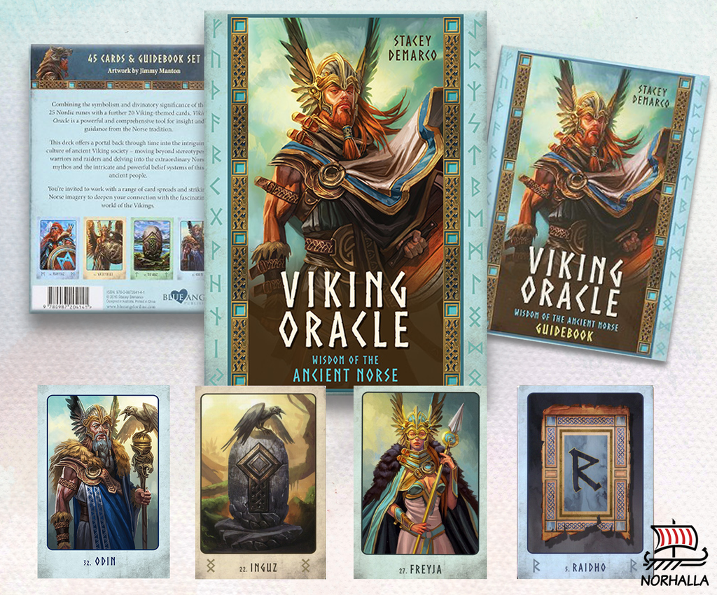 Viking Oracle cards at Norhalla.com