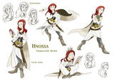 Hnossa is one of Freyja and Odur's daughters, and sister to Gersemi.  In mythology, she would sit and listen to Heimdall tell stories. Norhalla.com