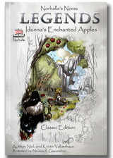 Norhallas Norse Legends: Idunna's Enchanted Apples is an epic telling of a traditional Norse story with our heroine Idunna being captured by Thjazi, who wants her legendary healing powers for himself. Norhalla.com