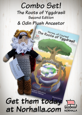 Combo Set! Norse of Course: The Roots of Yggdrasil and Odin plush ancestor. - Norhalla.com