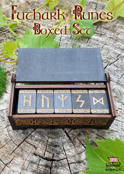 Futhark Runes Boxed Set at Norhalla.com