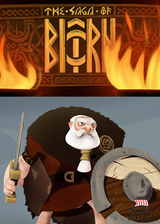 The Saga of Bjorn is an animated short story about an old Viking, Bjorn.  All he wants to do is die in battle so he can go to Valhalla and join his warrior companions.