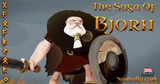 The Saga of Bjorn is an animated short story about an old Viking, Bjorn.  All he wants to do is die in battle so he can go to Valhalla and join his warrior companions. Norhalla.com