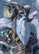Ymir - Ymir is the first great adversary Buri (Odin's grandfather) encounters.  Ymir's sons kill Buri out of jealousy.  Odin and his brothers then go to war with Ymir and his sons and kill them all but for Bergelmir and his wife, who leave to settle new lands, now Jotunheim. Norhalla.com