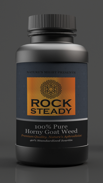 RockSteady Horny Goat Weed - 30 Capsules - Bronze Label