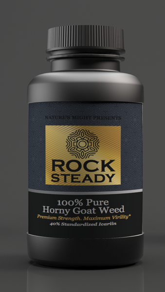 RockSteady Horny Goat Weed - 60 Capsules - Gold Label