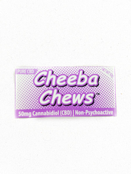 Cheeba Chews - Pure CBD (50mg CBD)