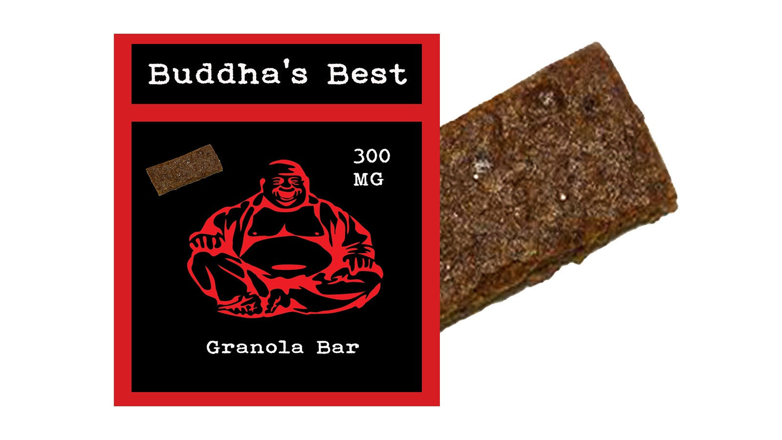 Granola Bar - Buddha's Best Edibles (300mg THC)