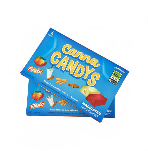 Jolly's Medicated Hard Candies 4-Pack - Canna Candys (240mg THC - 5 flavors)