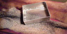 "9"" x 7"" x 3"" Aluminum Sifter With 1/4"" Perforated Screen"