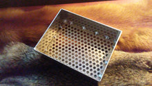 "9"" x 7"" x 3"" Aluminum Sifter With 3/8"" Perforated Screen"