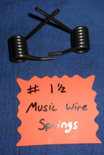 Music Wire Springs (Pair)