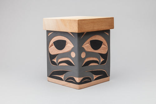 Blue Jay Bentwood Box