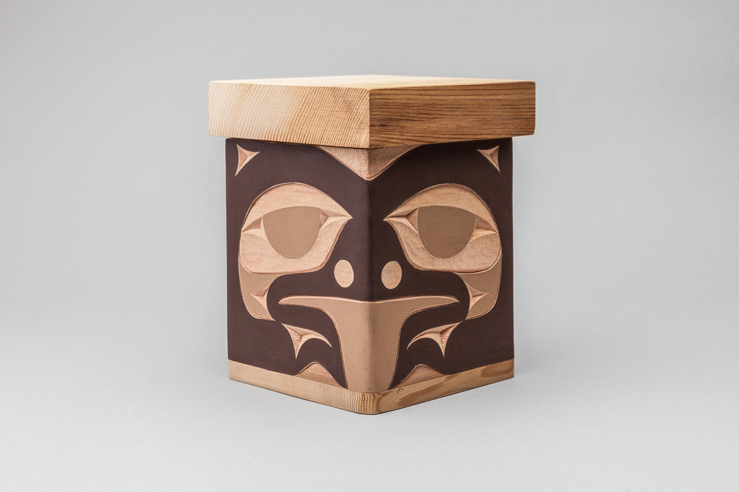Brown Bear Bentwood Box