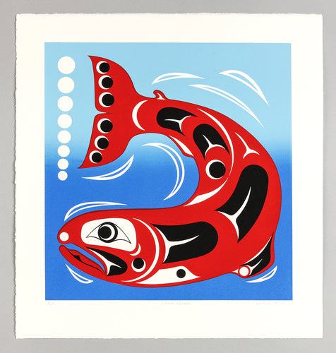 Chum Salmon by Dennis Allen, Skokomish Nation