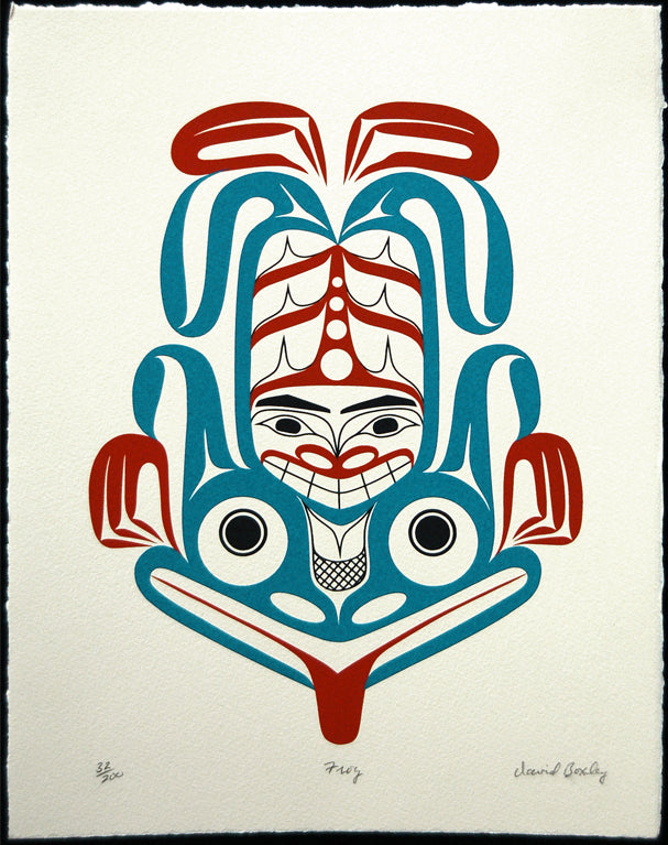 Frog by David A. Boxley, Tsimshian Nation