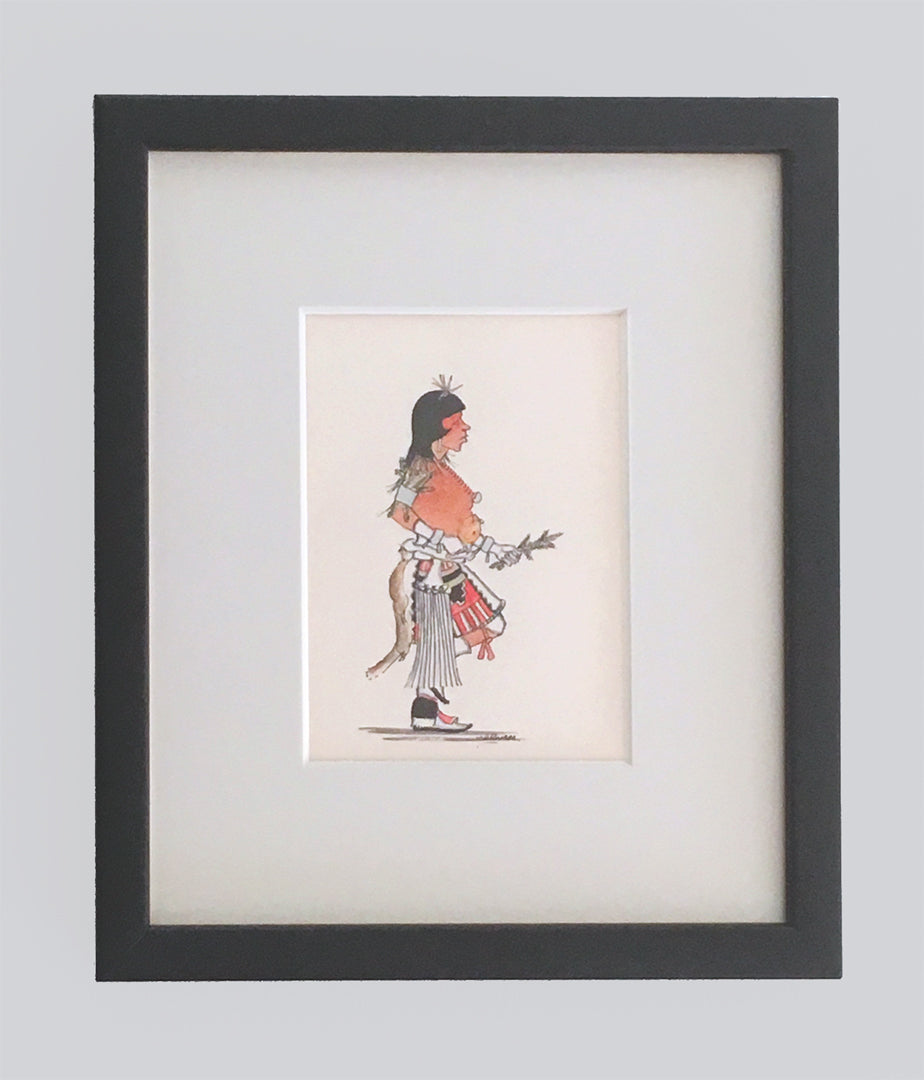 Ceremonial Dancer, c. 1970 by J.D. Roybal (1922-1978), San Ildefonso Pueblo