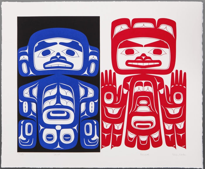 Decaf and Regular by Alison Bremner Marks, Tlingit