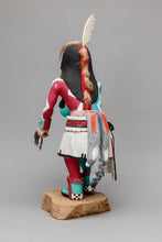 Collector Kachina: Angak'china (Long Hair) Kachina, 1988 by Clifford Bahnimptewa (1938-1984), Hopi