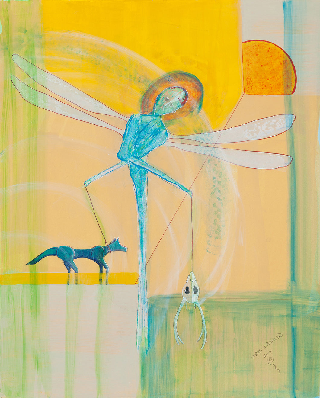 Dragonfly's Afternoon, 2018, Greg A. Robinson