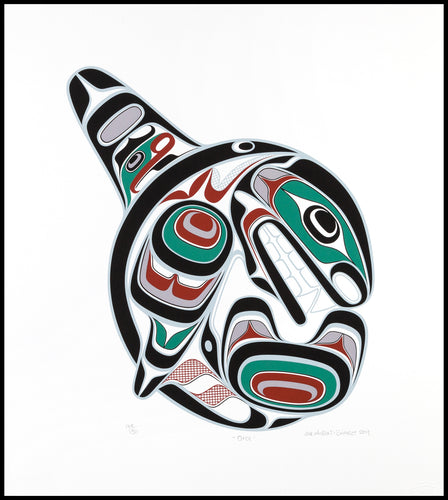 Orca by Joe Wilson, Kwakwaka'wakw Nation