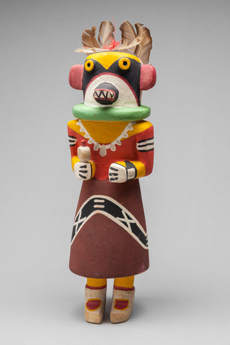 Yellow Ahote of the East (Sikyahote) Kachina, c. 1950