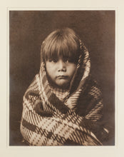 Navajo Girl, 1904 Original Platinum Photograph by Edward S. Curtis (1868-1952)