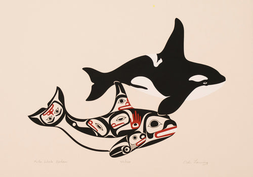 Killer Whale Nations by Odin Lonning, Tlingit Nation