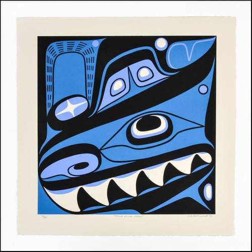 Haida Killer Whale by Lyle Campbell, Haida Nation