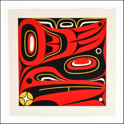Haida Raven by Lyle Campbell, Haida Nation