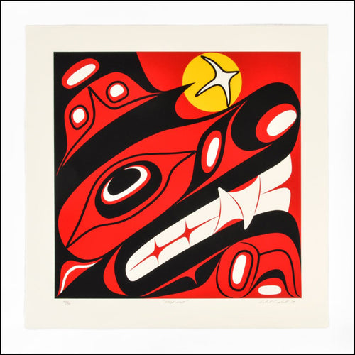 Haida Wolf by Lyle Campbell, Haida Nation