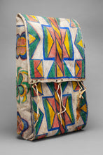 Parfleche (Indian Suitcase), c. 1920, Plateau Region