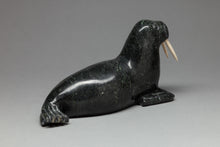 Walrus Carving by Mathewsie Kingwatsiaq, Cape Dorset