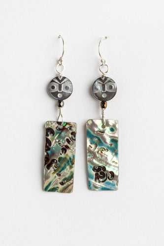 Skokomish Abalone Earrings