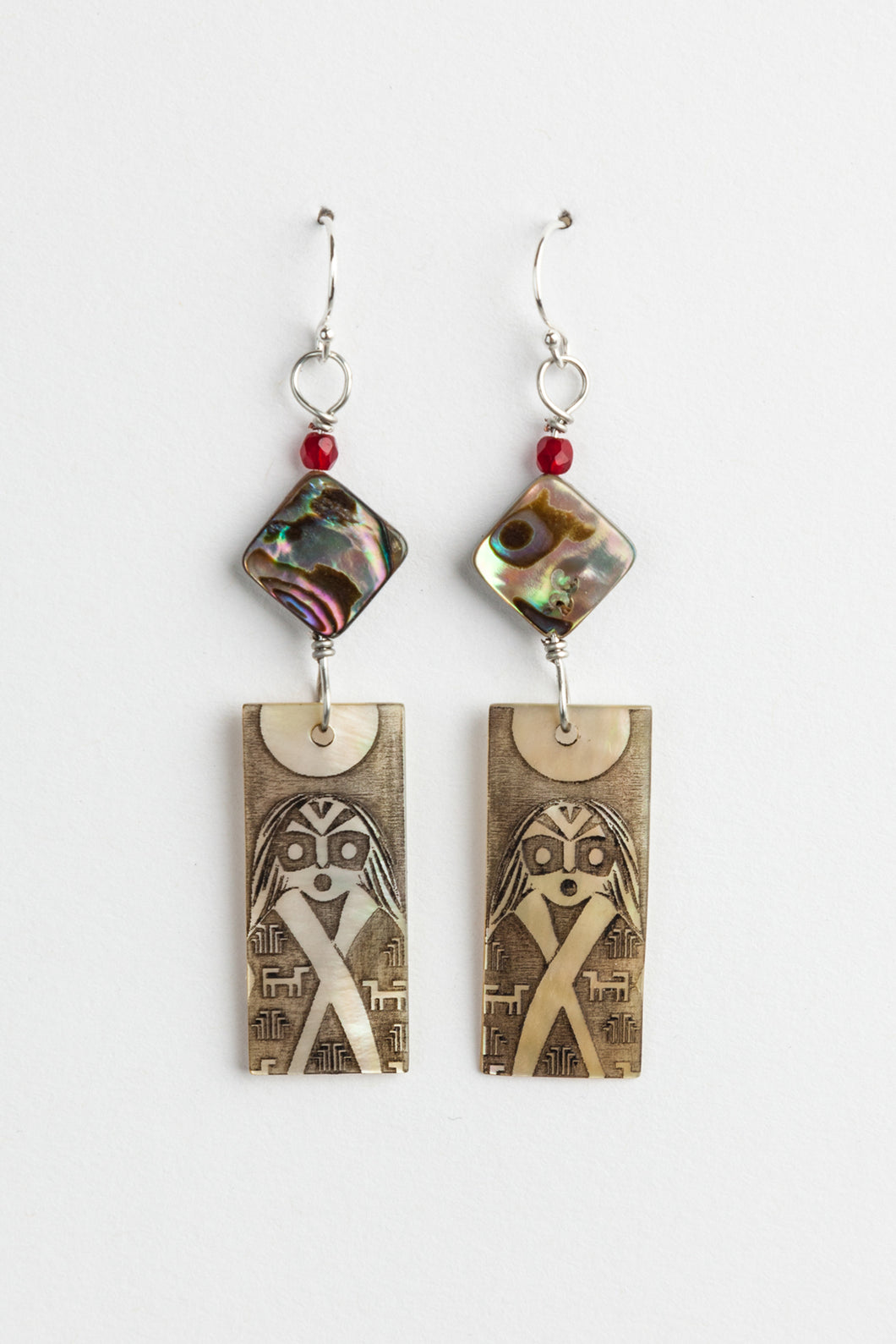 Skokomish Woman Design Earrings