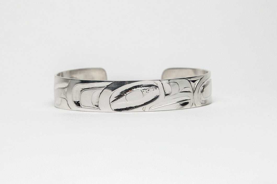 Northwest Coast Eagle Bracelet by Alvin Adkins, Haida
