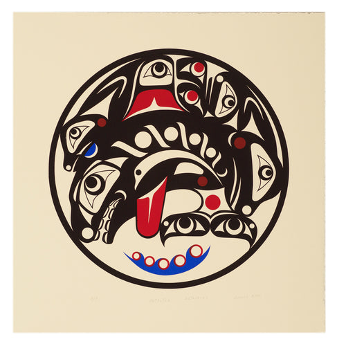 Potlatch Gathering by Dennis Allen, Skokomish Nation
