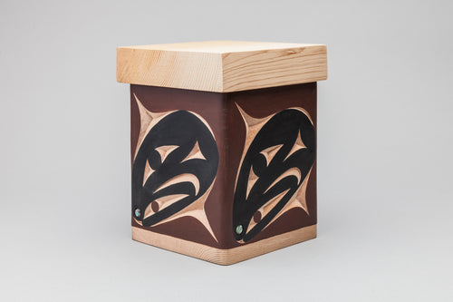 Salmon Head Bentwood Box