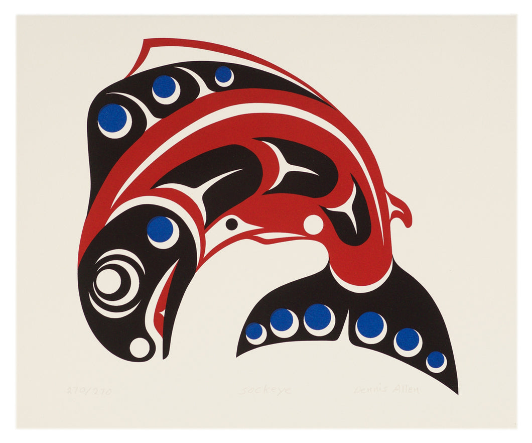 Sockeye by Dennis Allen, Skokomish Nation