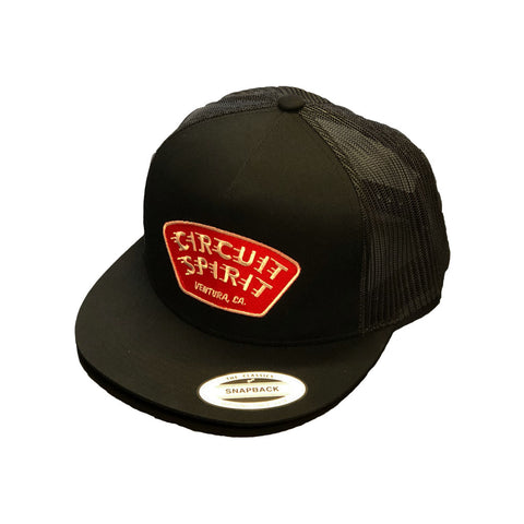 Speed Badge Mesh Snapback